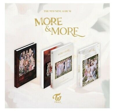[PREORDER] TWICE -MORE and MORE RANDOM VER -KPOP SEALED ALBUM  PREORDER BENEFITS