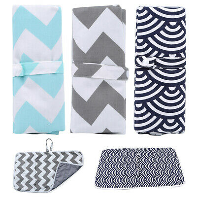 Foldable Baby Diaper Changing Mat Travel Home Change Pad Organizer Bag Tool-UK.