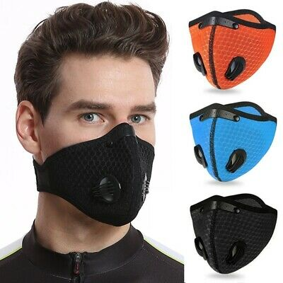 Cycling Anti-droplets Protective Mouth-muffle Face Shield Haze Fog Mouth Cover