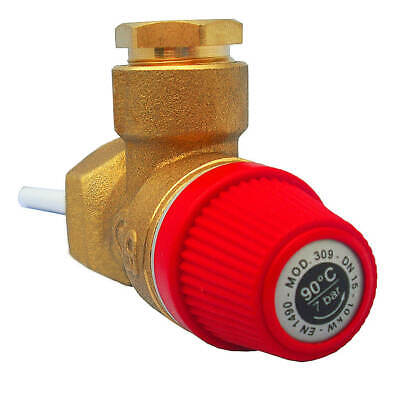 Altecnic Pressure And Temperature Relief Valve, 7Bar 1/2 Tpr15