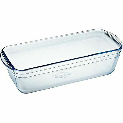 Borosilicate Glass Pyrex Loaf Dish Freezer, Oven & Microwave Safe