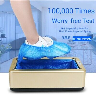 Automatic Shoes Cover Machine Booties Maker Smart Shoe Cover Dispenser Hand Free