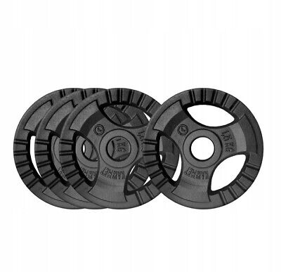 """Cast Iron Weight Plates 1"""" (30.5mm)Hole Disc for Dumbbell Barbell Bar weight"""