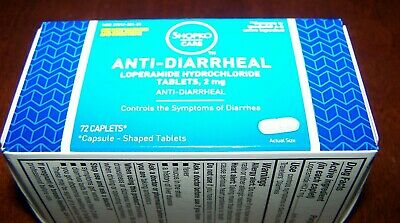 ANTI-DIARRHEAL 72 caplets 2mg.SHOPKO CARE Expires 10/20 FREE SHIPPING FROM TEXAS