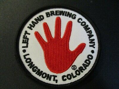 LEFT HAND BREWING COMPANY Colorado milk stout STICKER decal craft beer brewery