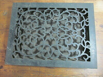 Antique cast iron floor register
