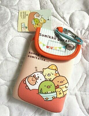 San-x Genuine Sumikko Gurashi HOUSE Kono Uchi Ni Sumitai Carabiner Tech Holder