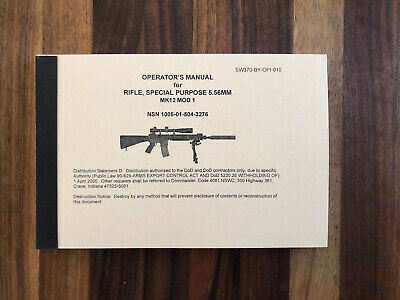 Mk12 Mod 1 OM Operators Manual - Reprint: 140 pages