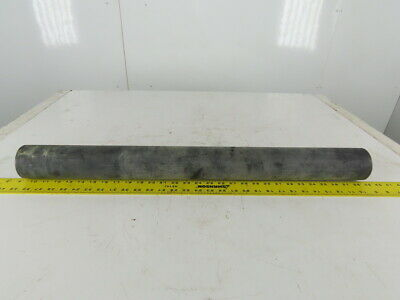 """2-7/8"""" OD x 30"""" BF Plastic Jacketed Gravity Conveyor Roller 3/4"""" Hex"""