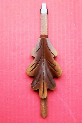 Hubert Herr,  genuine Black Forest hand carved cuckoo clock pendulum,  ( 4 b ).