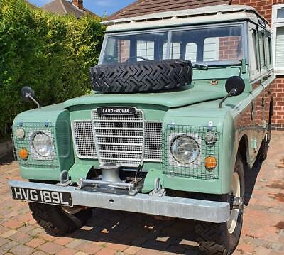 1973 Land Rover Safari Series-3 109inch 2.2L Diesel, MOT Tax exempt 12 seater
