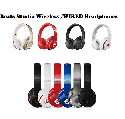 Beats By Dr. Dre Studio 2 Wireless / Wired Headphones 2.0 Over-Ear Headsets