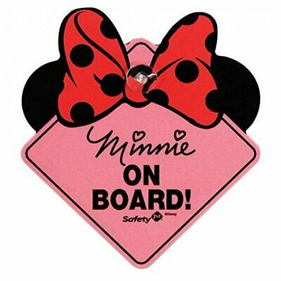 DISNEY BABY MINNIE on BOARD SIGN