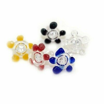 200 small or Middle size Daisy style Glass Screen filter /Quality Glass /USA