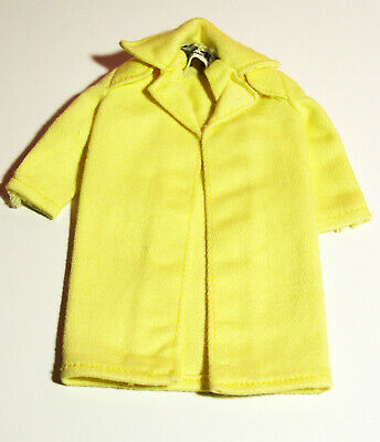 Vintage 1963 Mattel Inc Skipper Yellow Coat Tagged Exc Condition