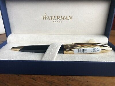 Waterman Carene Black And Gold Ballpoint