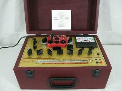 Hickok 6000A Mutual Conductance Tube Tester - Calibrated - Near Perfect Specs*.*