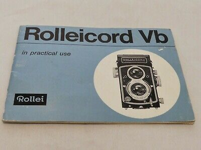 Rollei Rolleicord Vb In Practical Use Instructions