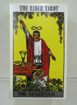 Rider Waite Original Tarot Cards with Instructions 78 Cards (Pg163B)