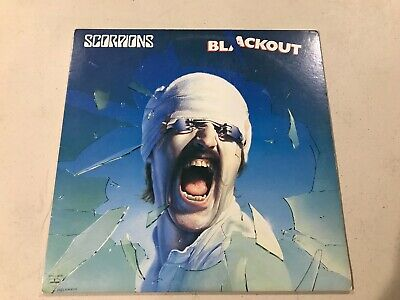 Scorpions Blackout Mercury 1982 Early Pressing Ex/Vg