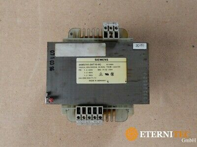Siemens 4AM 5741-5AT10-0C Transformer 4AM 5741 5AT10 0C