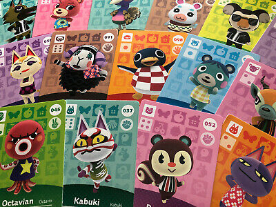 Animal crossing Amiibo Cards - Series 1 - Choose your Villager ! (US version)