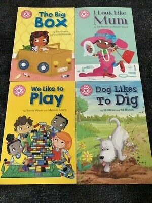 Reading Champion Beginners book set -4 books- PINK BAND home learning reading X1