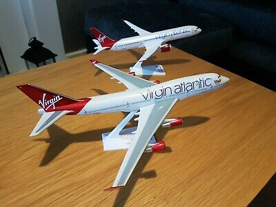 Virgin Atlantic 747 And 787 Double Act Boxed