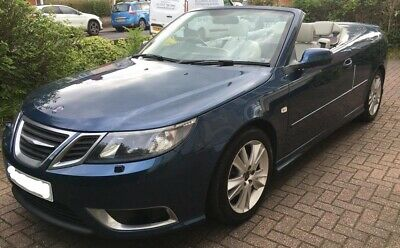 SAAB 9-3 93 2.0 Turbo Aero Convertible, FSH, Leather, MOT March 21, Beautiful