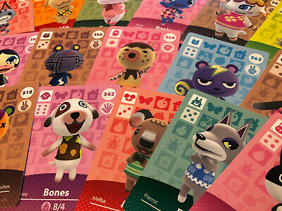 Animal crossing Amiibo Cards - Series 4 - Choose your Villager ! (US version)