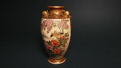 japanese satsuma antique vase PORCELAIN fine quality