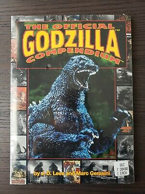 The Official Godzilla Compendium paperback book NEW sealed signed? GIFT QUALITY