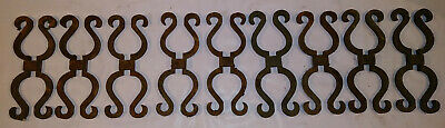 Vintage Cast Iron ARCHITECTURAL SALVAGE Gate Fence Post Decoration Ornamental