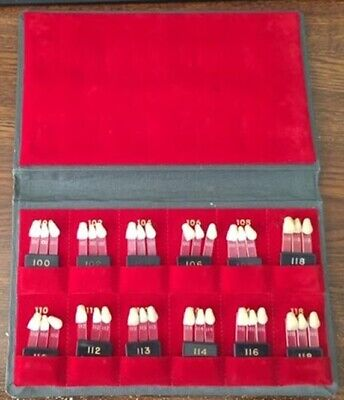 TRUBYTE ByoWend. Box with 36 shade guides, 100-118, unused