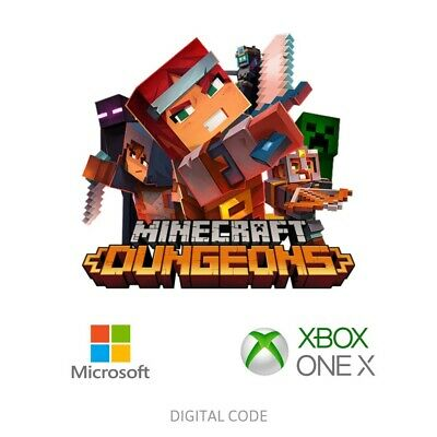 Minecraft Dungeons - Xbox One & Windows PC - Fast Delivery