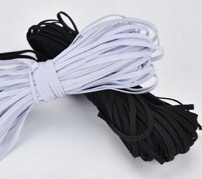 USA 5-10 Yards  1/4  inch Elastic String Band Cord Sewing Trim idea for masks