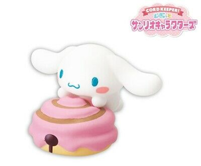 RE-MENT Cord Keeper! Mugyutto Sanrio Characters Cable Mini Figure #3 Cinnamoroll