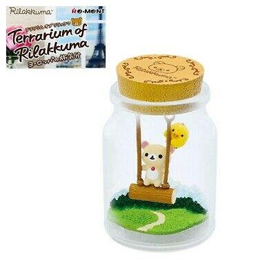 RE-MENT Rilakkuma Terrarium Feel Like Traveling Europe Figure 2 Alps Korilakkuma