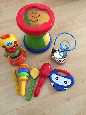 High chair Toy Bundle & Musical Instruments ELC, Chad Valley