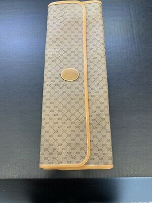 Gucci Tie/scarf Travel Case Vintage Small Gh Design