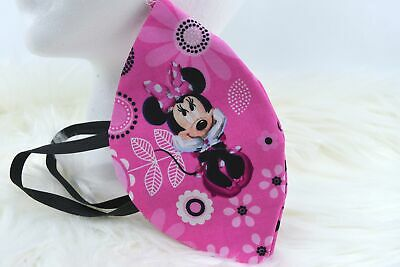 Face Mask Minnie Mouse Adult Cotton Washable Reusable New Handmade Covering