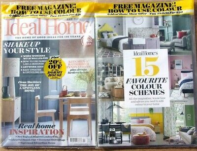 Ideal Home Magazine April 2020 With Free How To Use Colour Mag ~ New ~