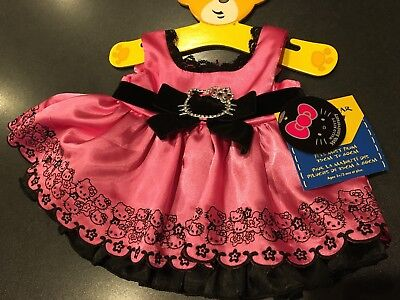 Build a Bear Hello Kitty 35th Anniversary Outfit