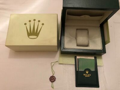 Rolex Submariner Watch Box Geneve Suisse  Wooden Box