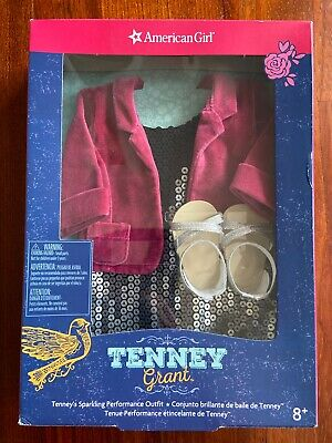 My American Girl Doll Retired Tenney Grant Sparkling Performance Outfit Complete