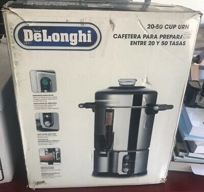 DELONGHI DCU50T 20-50 CUP Commercial Coffee Maker Urn NEW IN BOX