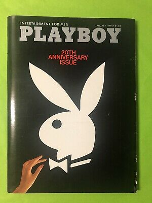 PLAYBOY magazine Jan 1974 20th Anniversary No mail label - EUC