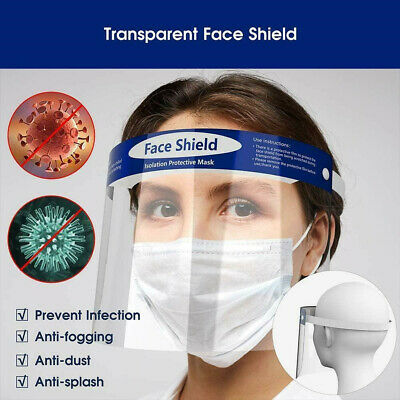 Eye Face Protector Shield Protective Full Face Safety Dental Transparent Cover