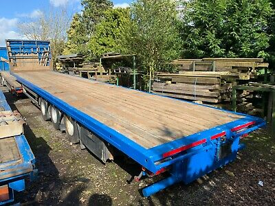 Pacton Flatbed Sloping Caravan Trailer Choice Of 2
