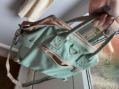 Baby Changing Bag Mint Green - Good Con
